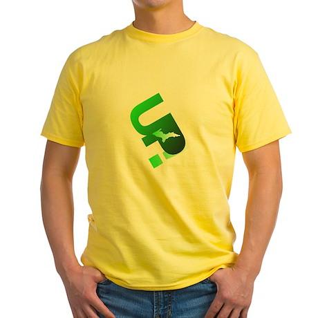 U.P. Yooper Yellow T-Shirt