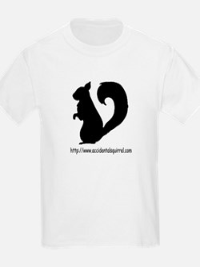 Squirrely URL Logo T-Shirt
