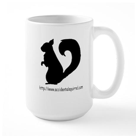 Squirrely URL Logo Large Mug