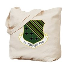 1st Fighter Wing Tote Bag