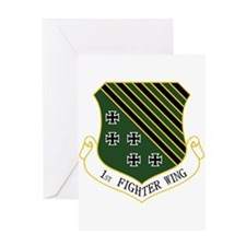 1st Fighter Wing Greeting Card