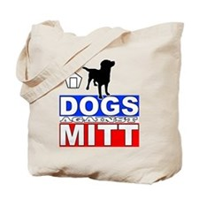Dogs Against Mitt Romney 2 Tote Bag