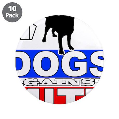 "Dogs Against Mitt Romney 2 3.5"" Button (10 pack)"