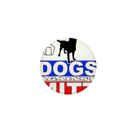 Dogs Against Mitt Romney 2 Mini Button (10 pack)