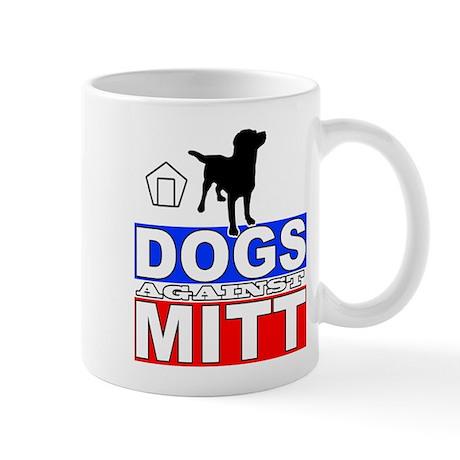Dogs Against Mitt Romney 2 Mug