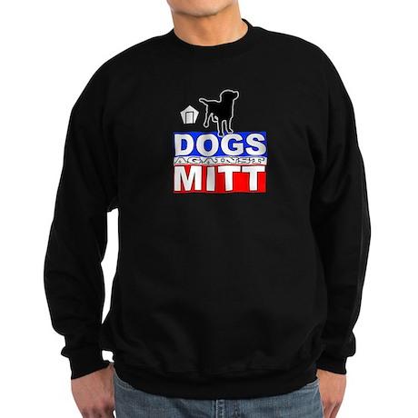 Dogs Against Mitt Romney 2 Sweatshirt (dark)