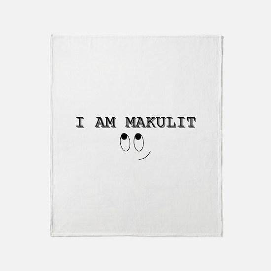 Makulit Throw Blanket