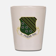 1st Fighter Wing Shot Glass