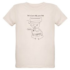 Organic Kids Tee ~ Be in love with your Self