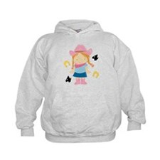 4th Birthday Cowgirl Hoodie