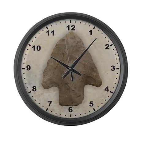 Arrowhead Large Wall Clock