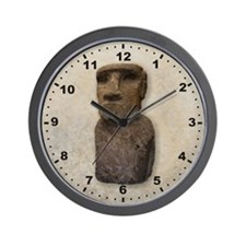 Easter Island Wall Clock