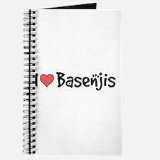 I heart Basenjis Journal