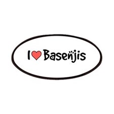 I heart Basenjis Patches