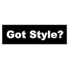 Got Style Bumper Bumper Sticker