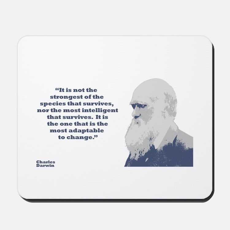 Darwin - Species Mousepad