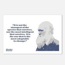 Darwin - Species Postcards (Package of 8)