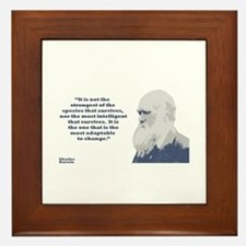 Darwin - Species Framed Tile