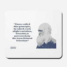 Darwin - Selection Mousepad