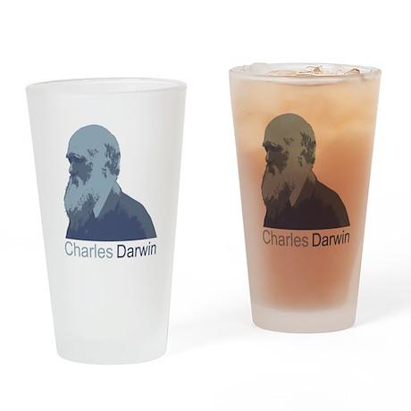 Charles Darwin Drinking Glass