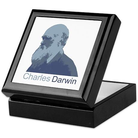 Charles Darwin Keepsake Box