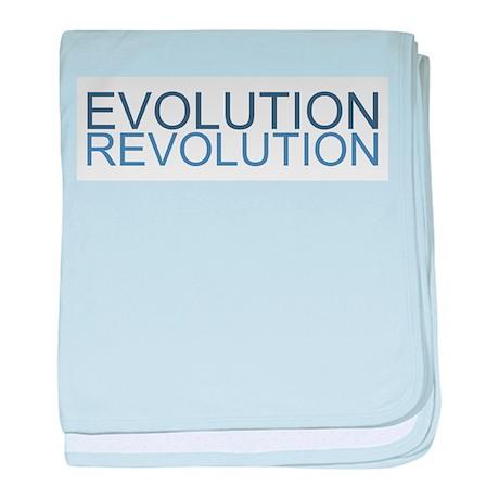 Evolution Revolution baby blanket