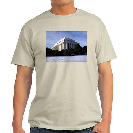 Lincoln Memorial Ash Grey T-Shirt