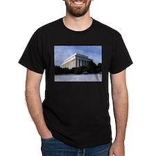 Lincoln Memorial Black T-Shirt