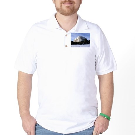 Lincoln Memorial Golf Shirt