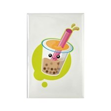 Boba Tea Rectangle Magnet