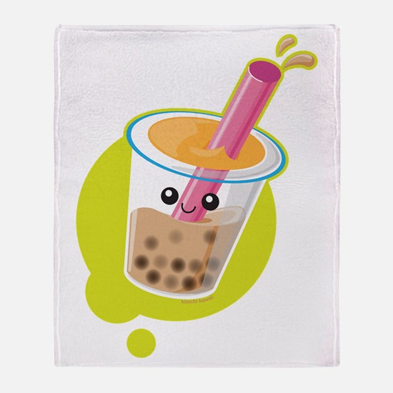Boba Tea Throw Blanket