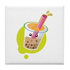 Boba Tea Tile Coaster