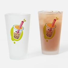 Boba Tea Drinking Glass