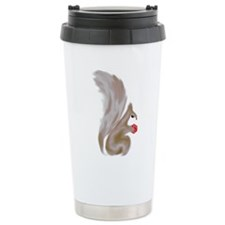 Painted Squirrels (red) Travel Mug