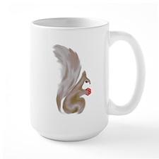 Painted Squirrels (red) Mug
