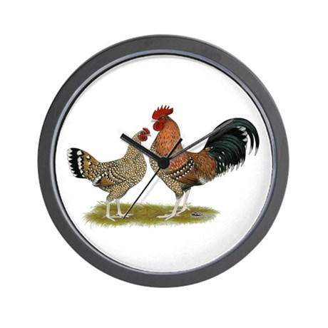 Tournaisis Bantams Wall Clock