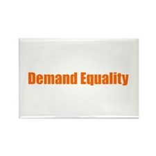 Demand Equality Rectangle Magnet (100 pack)