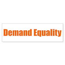 Demand Equality Bumper Sticker