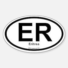 ER - Eritrea Sticker (Oval)