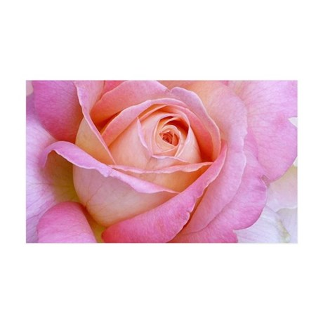 PinkMono Rose Wall Peel