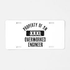Engineer designs Aluminum License Plate