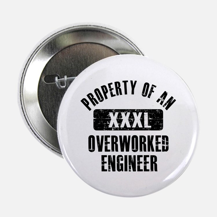 "Engineer designs 2.25"" Button (10 pack)"