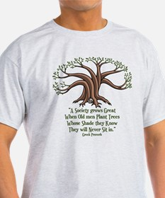 Greek Trees T-Shirt