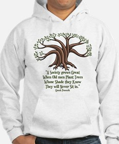 Greek Trees Jumper Hoody