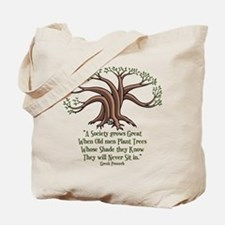 Greek Trees Tote Bag