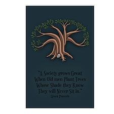 Greek Trees Postcards (Package of 8)