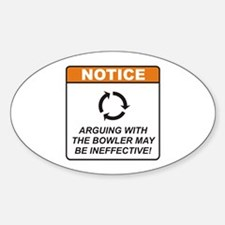 Bowler / Argue Decal