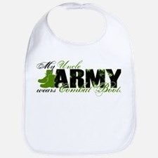 Uncle Combat Boots - ARMY Bib