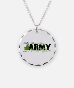 Son Law Combat Boots - ARMY Necklace
