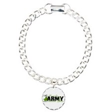 Son Law Combat Boots - ARMY Charm Bracelet, One Ch